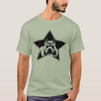 Proteja la camisa del pitbull de la raza -