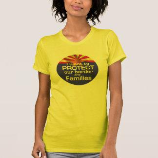 Proteja la camiseta de Arizona de las familias