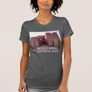 Proteja la camiseta histórica de Nínive de los