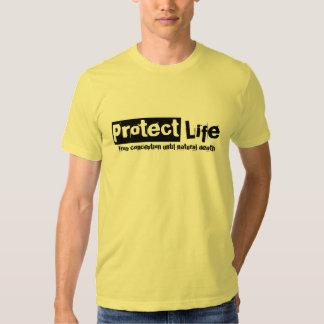 Proteja la camiseta v2 de la vida camisas