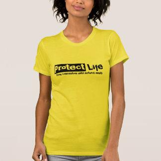 Proteja la camiseta v2 de la vida para las mujeres remeras