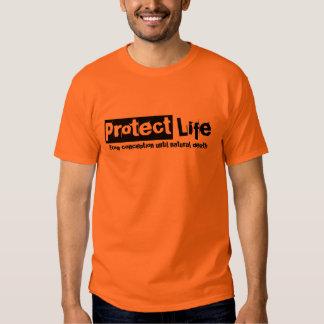 Proteja la camiseta v2 de la vida poleras