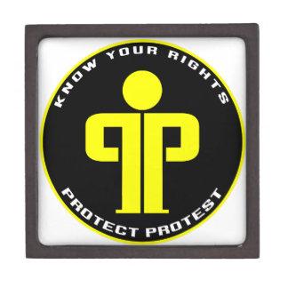 Proteja la protesta cajas de joyas de calidad