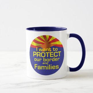 Proteja la taza de Arizona de las familias