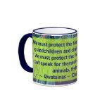 proteja la taza de los bosques