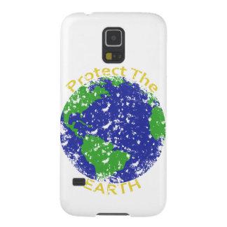 Proteja la tierra carcasa galaxy s5