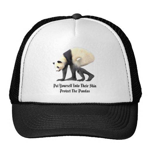 Proteja las pandas gorras de camionero