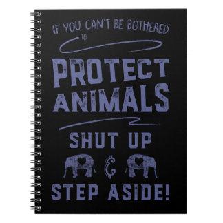 Proteja los animales 2 cuaderno