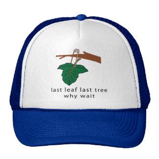 Proteja los árboles gorras de camionero