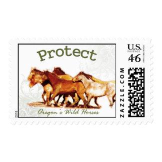 Proteja los caballos salvajes de Oregon