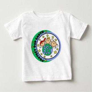 Proteja nuestras camisetas y regalos de la tierra