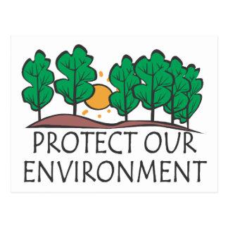 Proteja nuestro ambiente postal