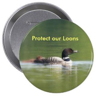 Proteja nuestro botón de los bribones