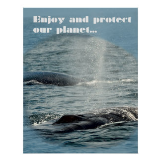 Proteja nuestro planeta impresiones