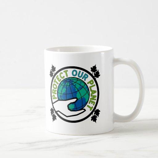 Proteja nuestro planeta taza