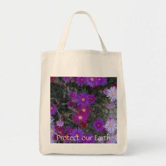 Proteja nuestro tote de la tierra bolsa tela para la compra