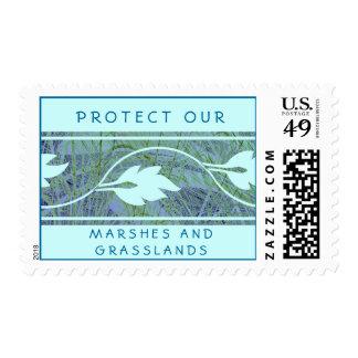 Proteja nuestros prados sello