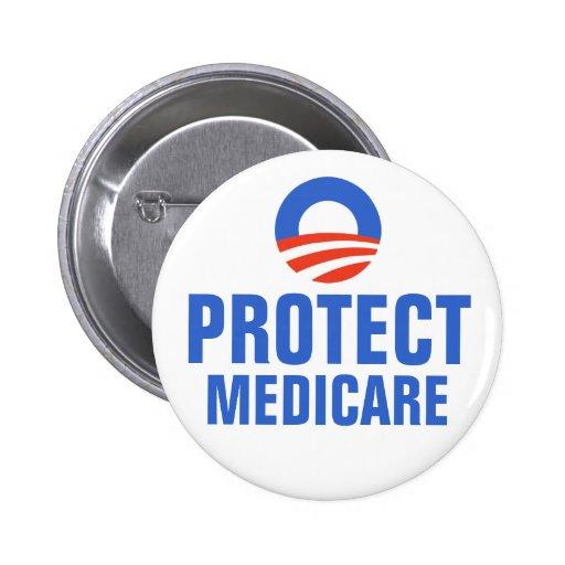 Proteja Seguro de enfermedad Obama 2012 Pin