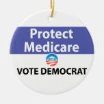 Proteja Seguro de enfermedad: Vote a Demócrata Ornamente De Reyes