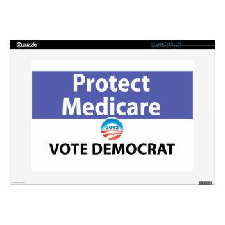 Proteja Seguro de enfermedad: Vote a Demócrata Portátil 38,1cm Skins
