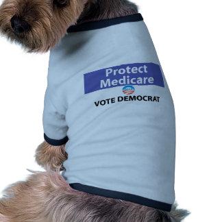 Proteja Seguro de enfermedad: Vote a Demócrata Ropa De Mascota