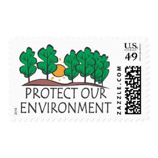 Proteja su ambiente sello
