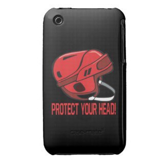 Proteja su cabeza iPhone 3 carcasa