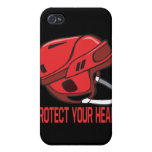 Proteja su cabeza iPhone 4 cárcasas