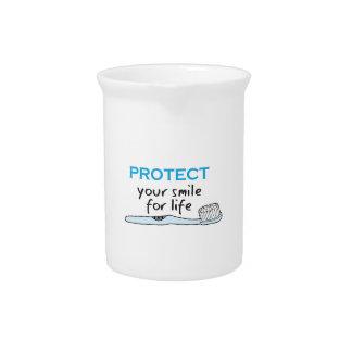 Proteja su sonrisa jarrón