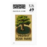 Proteja sus parques WPA 1938 Franqueo