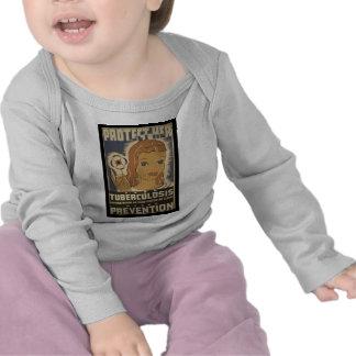 Protéjala contra tuberculosis camisetas
