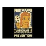 Protéjala contra tuberculosis postal