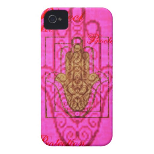 Protéjame caso de Iphone en rosas fuertes iPhone 4 Case-Mate Cárcasas