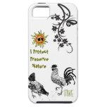 Protejo la naturaleza Iphone 5 del coto iPhone 5 Case-Mate Carcasa