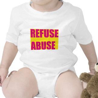 Protes abuse slogan t-shirts