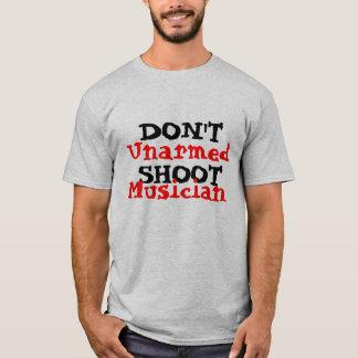 Protest Activist Political Don't ShootMusician T-Shirt
