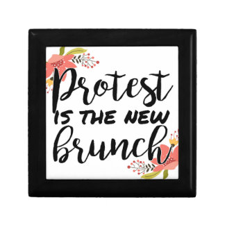 Protest_Is The New Brunch Jewelry Box