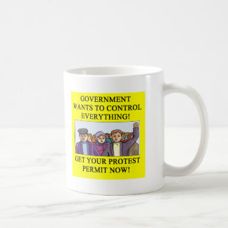 PROTEST  liberal dictatorship Coffee Mug