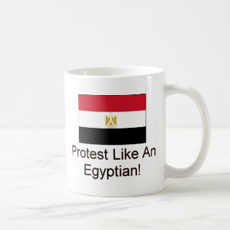 Protest Like An Egyptian Classic White Coffee Mug