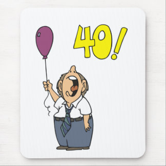 Protest My 40th Birthday Gifts Mouse Pad