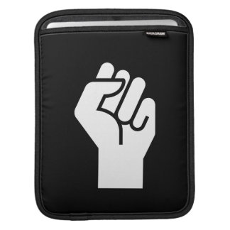 Protest Pictogram iPad Sleeve