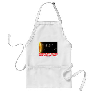 Protest Pluto's Demotion From Planetary Status! Adult Apron