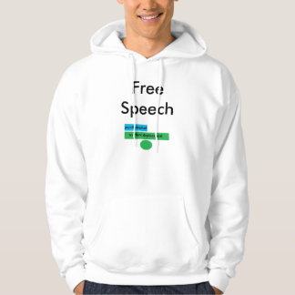 Protest PsychologicalWarfareDeployment, FreeSpeech Hoodie