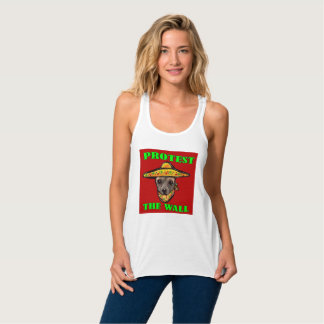 PROTEST THE WALL TANK TOP
