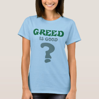 Protest Wall St Greed T-Shirt