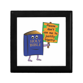 Protesta de la biblia cajas de regalo