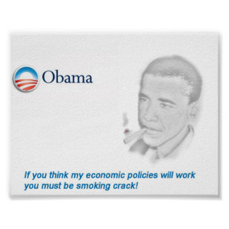 Protesta de Obama Poster