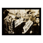 Protesta del trabajo infantil en New York City 190 Poster