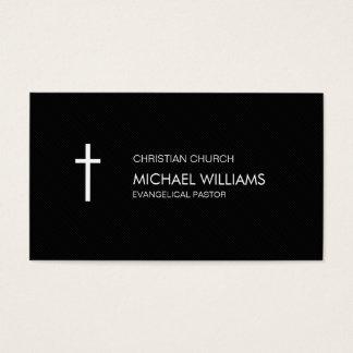 Protestant black cures catholic shepherd religion business card