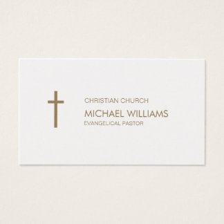Protestant pearl cures catholic shepherd religion business card